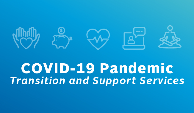 Transition and support services for RS&H associates during the COVID-19 pandemic.