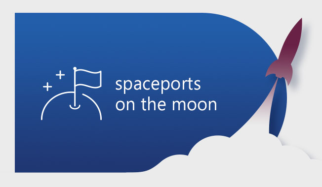 Commercial spaceport moon bases may play a critical role in future space travel.